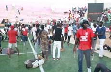 Senegal bắt giữ 10 nghi can vụ giẫm đạp ở sân vận động tháng trước
