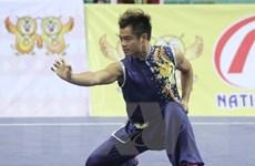 SEA Games 29: Wushu Việt Nam giành thêm 2 huy chương bạc
