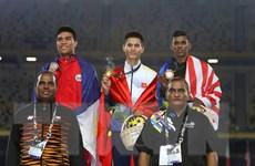 Huy chương vàng cho tinh thần đồng đội của tuyển điền kinh Việt Nam