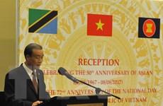 Kỷ niệm 72 năm Quốc khánh Việt Nam, 50 năm thành lập ASEAN ở Tanzania