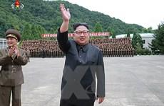 Nhà lãnh đạo Triều Tiên Kim theo dõi cuộc tấn công giả định