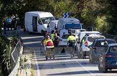 Tây Ban Nha: Tuần hành phản đối khủng bố bằng xe tại Cambrils