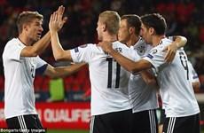 Đội tuyển Đức vẫn gây lo lắng dù sắp giành vé dự World Cup 2018