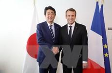 Lãnh đạo Nhật Bản và Pháp nhất trí thúc đẩy hợp tác an ninh