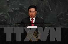 Các hoạt động của Phó Thủ tướng Phạm Bình Minh tại Liên hợp quốc