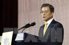 Ông Moon Jea-in kêu gọi các đảng phái ủng hộ đối phó Triều Tiên