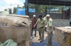 Bình Dương phát hiện kho chứa hàng nhập lậu từ Trung Quốc