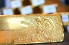 Giá vàng thế giới đi xuống trước sự mạnh lên của đồng USD
