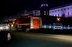 Hỏa hoạn tại Văn phòng Thủ tướng Ấn Độ ở thủ đô New Delhi