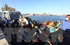 Vấn đề người di cư: Hải quân Libya cứu 147 người nhập cư trái phép
