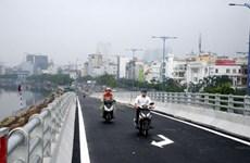 TP.HCM: Thông xe cầu kết nối Nguyễn Tri Phương và Đại lộ Võ Văn Kiệt
