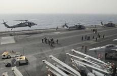 Tàu sân bay USS Nimitz và các tàu khu trục Mỹ cập cảng Sri Lanka
