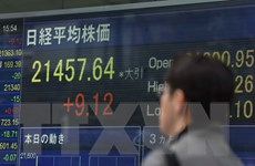 Chỉ số chứng khoán Tokyo tăng lên mức kỷ lục trong 21 năm qua