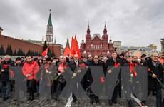 Cuộc duyệt binh lịch sử năm 1941 được tái hiện trên Quảng trường Đỏ