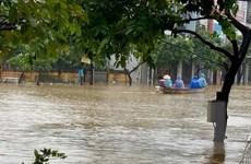 Các tỉnh miền Trung vẫn có mưa rất to, lũ trên các sông sẽ lên cao