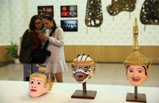 """Khai mạc triển lãm """"Campuchia-Vương quốc văn hóa"""" tại Hà Nội"""