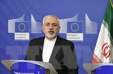 Ngoại trưởng Iran kêu gọi EU ủng hộ thỏa thuận hạt nhân lịch sử