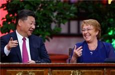 APEC 2017: Trung Quốc-Chile nâng cấp thỏa thuận thương mại tự do