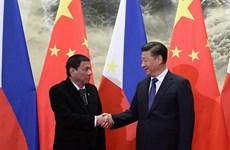 APEC 2017: Chủ tịch Trung Quốc hội đàm với Tổng thống Philippines
