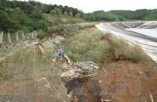 Khắc phục sụt, trượt khu vực hồ chứa bùn đỏ Nhà máy Alumin Nhân Cơ