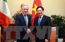 Ireland cam kết dành khoản ODA 7,5 triệu euro mỗi năm cho Việt Nam