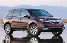 Honda triệu hồi hàng nghìn xe sang Acura tại thị trường Trung Quốc