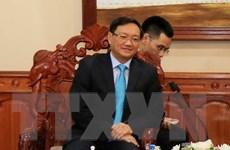 Đại sứ quán Việt Nam tại Lào chúc mừng 42 năm Quốc khánh Lào