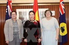 Chủ tịch Quốc hội Nguyễn Thị Kim Ngân gặp lãnh đạo bang Tây Australia