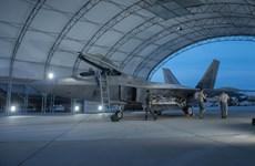 6 tiêm kích tàng hình F-22 Raptor của Mỹ tới Hàn Quốc tập trận