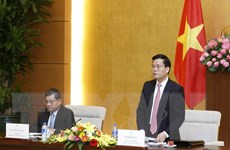 Thông báo Hội nghị APPF-26 đến cơ quan đại diện ngoại giao ở Việt Nam