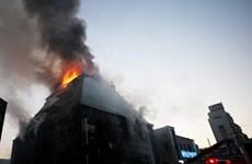 Hàn Quốc: Số thương vong trong vụ hỏa hoạn tại Jecheon tăng mạnh