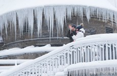 Giá rét kỷ lục tiếp diễn tại Canada, có nơi xuống tới -48,2 độ C