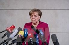 Thủ tướng Đức Merkel lạc quan về triển vọng đàm phán với SPD