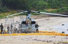 Trực thăng thủy quân lục chiến Mỹ hạ cánh khẩn cấp tại Okinawa