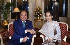 Thủ tướng Nguyễn Xuân Phúc tiếp xúc song phương tại Ấn Độ