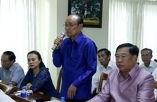 Người Việt ở Lào quyết tâm xây dựng cộng đồng đoàn kết, vững mạnh