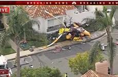 Mỹ: Rơi trực thăng tại bang California khiến 5 người thương vong