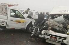Tai nạn giao thông nghiêm trọng ở Ai Cập, 11 người thiệt mạng