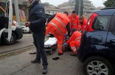 Nổ súng tại Italy, ít nhất bốn người nhập cư gốc Phi bị thương