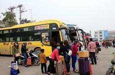 TP.HCM: Hơn 800 người bán vé số dạo được đưa về quê đón Tết
