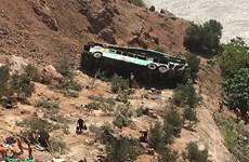 Tai nạn xe buýt tại Peru: Số nạn nhân thiệt mạng tăng lên gấp đôi
