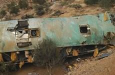 Xe buýt lao xuống vực ở Peru làm ít nhất 20 người thiệt mạng