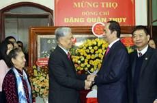 Chủ tịch nước mừng thọ Trung tướng Đặng Quân Thụy tròn 90 tuổi