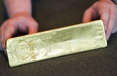 Giá vàng tại châu Á giảm xuống mức thấp nhất trong ba tuần