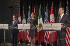 Tiến triển trong vòng 7 tái đàm phán Hiệp định Thương mại tự do Bắc Mỹ