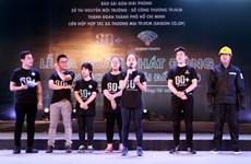 Hơn 2.000 thanh niên ra quân chiến dịch Giờ Trái đất 2018