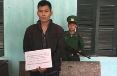 Bắt giữ đối tượng vận chuyển heroin qua biên giới Việt-Lào