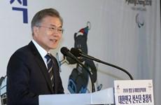 Tỷ lệ ủng hộ ông Moon Jae-in và đảng dân chủ cầm quyền tiếp tục tăng
