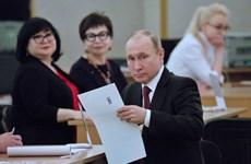 Bầu cử tổng thống Nga 2018: Khoảng 250 vụ vi phạm được ghi nhận
