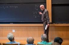 Nhà toán học Canada Langlands được trao Giải thưởng Toán học Abel 2018